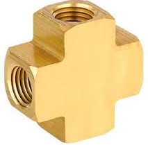Brass Cross Fitting 1