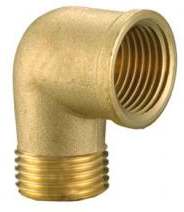 Brass Reducer Elbow 2
