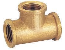 Brass Tee Elbow 1
