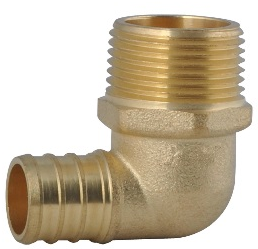 Brass Tee Elbow 2