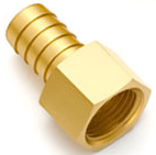 Brass Hose Barb Female Fitting